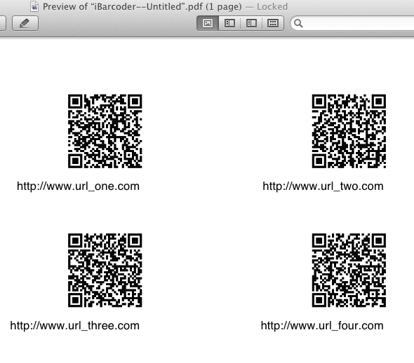 create sequential barcodes