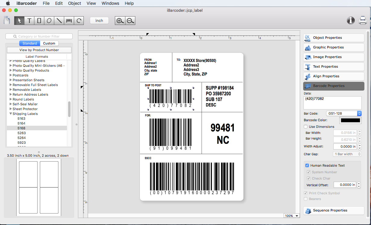 iBarcoder - Barcode Generator for Mac