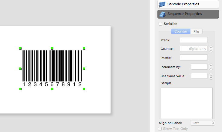 Barcode generator for mac